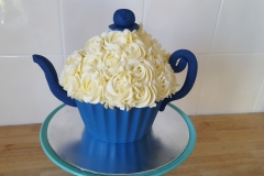 Tea Pot Giant Cupcake