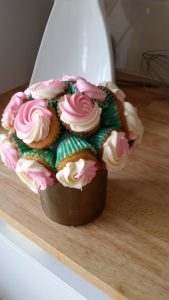 Cupcake Flower Bouquet 4