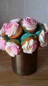 Cupcake Flower Bouquet 1